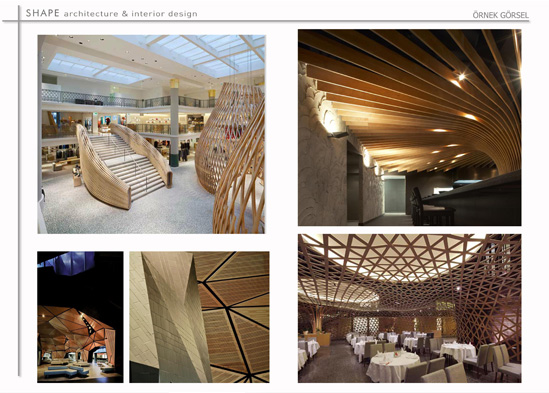 That Interior Concept Projects Were Performed By Shape Architecture Design
